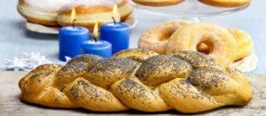 Jewish festive bread