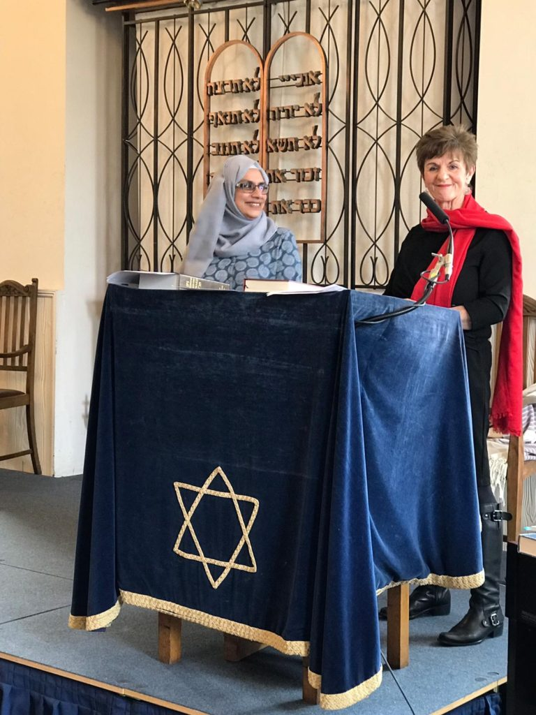 This image has an empty alt attribute; its file name is Co-chairs-of-SW-London-Nisa-Nashim-Group-Fareeda-Bader-and-Adele-Hetherington-768x1024.jpg
